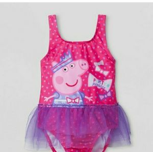 Peppa Pig Tulle Party Princess Swimsuit